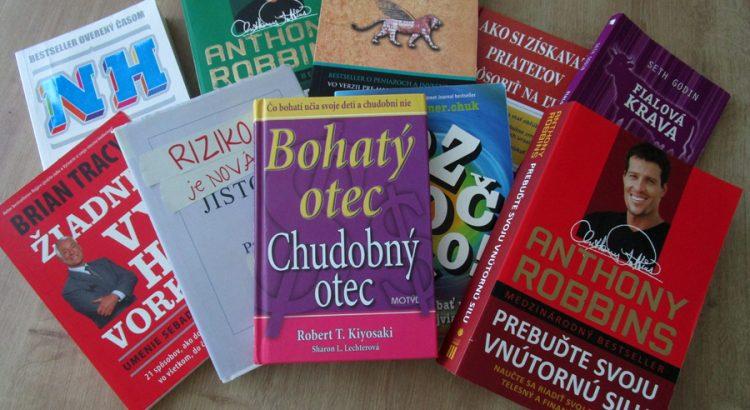 Knihy osobný rozvoj